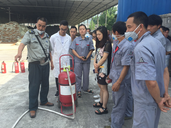 Hubei Heno Bio-Engineering Co., Ltd organisiert Safety Accident Emergency Drill